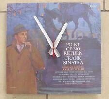 Frank Sinatra 'POINT OF NO RETURN' Album Clock!! Great Gift--Free Shipping!!