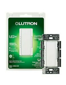 Maestro C.L Dimmer Switch for Dimmable LED, Halogen and Incandescent Bulbs,
