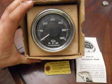 NOS SUN Tach 6000 RPM Dated 1964 8 cyl 12 volt