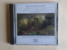 Rachmaninov, Suite 2, Symphonic dances, The isle of the dead, Prague piano duo