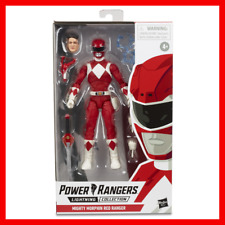 Power Rangers Lightning Collection Mighty Morphin Red Ranger Figure In Stock!