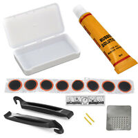 Bike Bicycle Flat Tire Repair Patch Tyre Rubber Tube Fix Kit Maintenance Tool