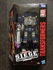Transformers War for Cybertron Siege Voyager Soundwave - MISB