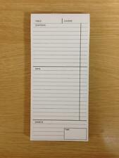 3 PART , RESTAURANT CAFE WAITER FOOD ORDER PADS X 50 PADS