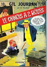 Gil Jourdan n°10 - Le Chinois à 2 roues- EO 1967- Etat NEUF-