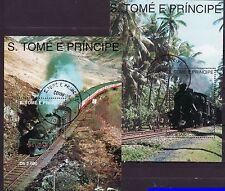 S. Tomé e Príncipe 1995 - Treinen / Trains / Eisenbahn