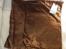 West Elm Lush Velvet Pillow Cover NWT! 20x20 Copper
