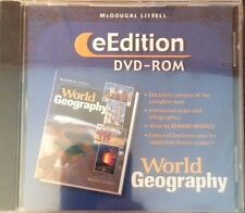 eEdition Dvd Rom World Geography Littell Electronic Version of Complete Text