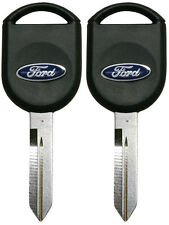 2 Transponder Chip Keys for Ford F150 F250 F350 Explorer & more