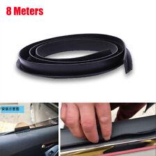 Neu 8M Gummi V-Form Auto Seitenfenster Dichtungsstreifen Schallgeräuschbeständig