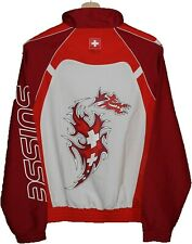 SUISSE OLYMPIC GAMES 2008 BEIJING OFFICIAL Jacket TRACKSUIT size S SWITZERLAND