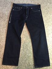Levis's For Men 569 Loose Straight Leg Jeans Dark Blue 36/32 Kd1