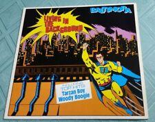 BALTIMORA (LP) LIVING IN THE BACKGROUND [ITALO DISCO 1985 **RARE EU PRESSING] EX