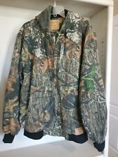 Levi Strauss Signature Field Gear Camo Hunting Hooded Lined Jacket Size Medium