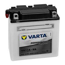 Motorradbatterie Varta Powersport 6n4-2a-7 6v 4ah 10a 004014001 71x71x96mm