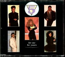 FIVE STAR - LET ME BE YOURS / CAN'T WAIT ANOTHER MINUTES REMIX - CD MAXI [1157]