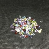 Natural faceted loose gemstones, [A-grade], mixed shapes- 95 cts - SOLD AS LOT