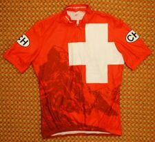 Suisse, Switzerland, Cycling Shirt by Sugoi, Mens XL