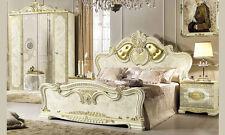 Italienisches Klassisches Schlafzimmer Leonardo Beige Hochglanz Möbel versac