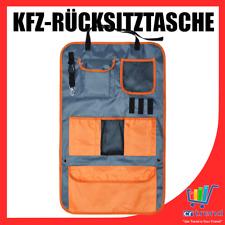 KFZ Rücksitztasche Rückenlehnentasche Auto Kinder Organizer Tasche Car Bag Grau