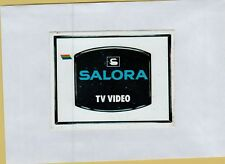 ADESIVO VINTAGE STICKER SALORA TV VIDEO
