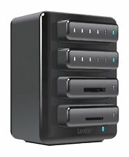 Lexar Professional Workflow HR2 Four-Bay Thunderbolt and USB 3.0 Reader Hub.