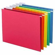 Hanging File Folder Letter Cabinet Drawer Organizer Filling Desk Color 25 Pc Box