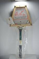 NEW vintage Don Budge Regent Super Star wood photo decal racket