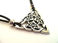 Celtic Triquetra Pewter Pendant, The Mother Goddess
