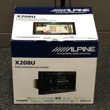 "ALPINE X208U 8"" DIGITAL MEDIA RECEIVER w/ NAVIGATION BLUETOOTH HD RADIO HEADUNIT"