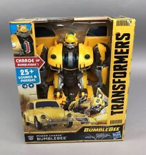 Transformers Hasbro Bumblebee Movie: Power Charge Bumblebee BOX LIGHT DAMAGE