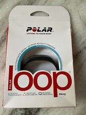 Black Polar Loop 24-Hour Activity Tracker With Bluetooth & Charger Windows Mac