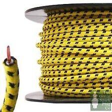 30 METROS ROLLO 7mm Cable De Encendido Ht - Núcleo Alambre Algodón Trenzado ybf