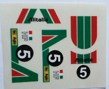 Adhesivo Lancia Stratos (Alitalia) Exin Scalextric Triang Ninco Avant Slot