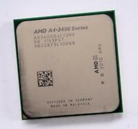 AMD A4-3400 Series (AD3400OJZ22HX) Dual-Core 2.7GHz Socket FM1 CPU + Radeon GPU