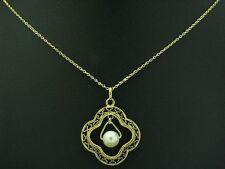 14kt 585 Giallo Catena e rimorchi con AKOYA-Guarnizione in perle/3,6g/41,5 cm