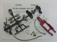 Unidad De Dirección De Nylon Super Conchas década de 1960 Kit S73 & 'Slim Jim' chasis F1 1.32
