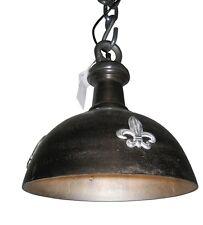 Lampadari da soffitto nero in ferro per camera da letto