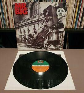 MR BIG Lean Into It Vinyl L.P **1991 German 1A/1B w/Insert** 7567 82209-1 - EX+