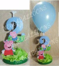 Pepa pig table balloon centerpiece