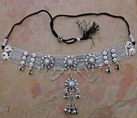 Metal Fringe Tassel Charm Choker Necklace Collar Boho Tribal Hot Fashion Jewelry