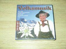 Volksmusik - 10-CD-Box  - Zillertaler Vagabunden,Geraldine Olivier,...