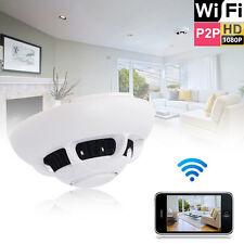 HD 1080p WiFi Spy IP Camera Detection Hidden Smoke Detector Motion Nanny Cam UK
