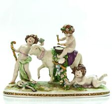Scheibe Alsbach Kister Porcelain Figurine | Germany Antique Vintage 1910 Large 8
