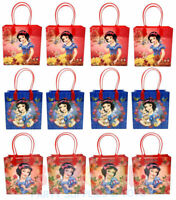 Disney Snow White Gift Bags Party Favor Treat Goody Candy Loot Birthday Bags