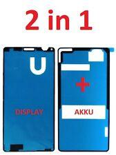Sony Xperia Z3 Compact D5803 Sticker Kleber Display Akkudeckel Klebepad Rahmen