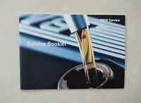 100% GENUINE NEW BMW SERVICE BOOK FOR ALL MODELS PETROL & DIESEL