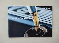 💯GENUINE NEW BMW SERVICE HISTORY BOOK FOR ALL MODELS PETROL & DIESEL...