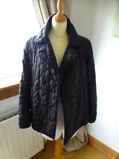 Fantastic Fahri By Nicole Fahri Black Quilted Jacket, Size 12.