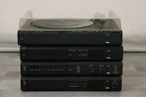 4tlg Stereo Anlage Braun P4 - CD2 - C2 - R2 (MÖ3700)